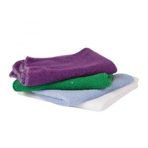 Microfibras de color